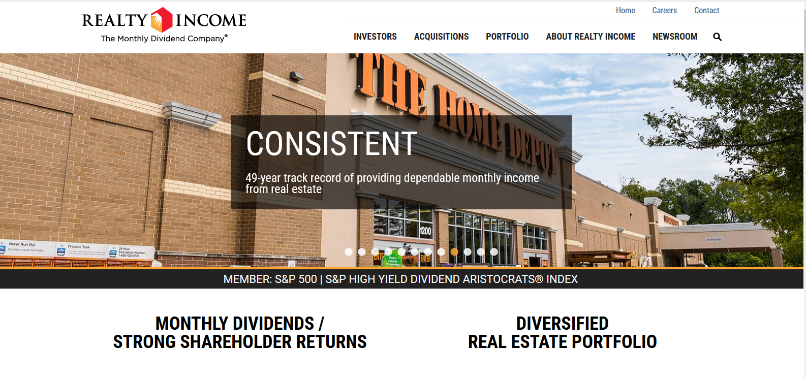 Realty Income Corp O Stock Message Board Investorshub