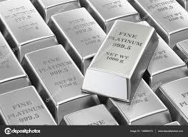 Image result for platinum bars