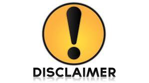 Image result for Disclaimer
