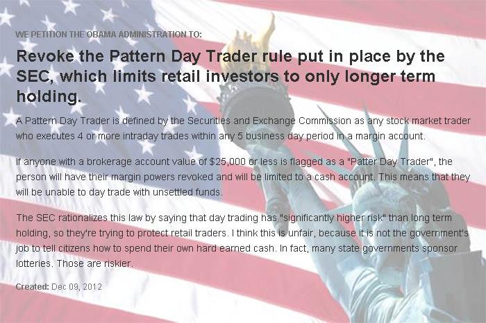Stock O'holics Investing University Revoke The Pattern Day Trader Inspiration Pattern Day Trader Rule