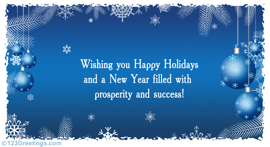 Поздравление с новым годом на английском с