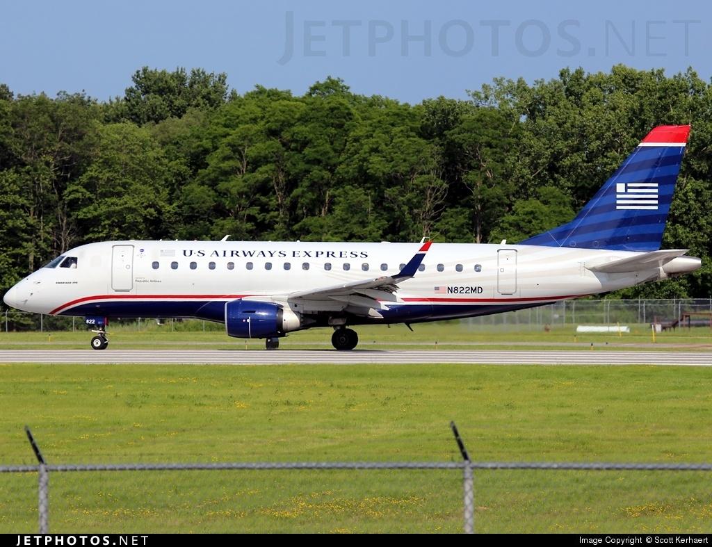Embraer 170-100SU  Airline: Republic Airways