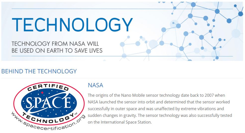 NASA Technology Space Certification