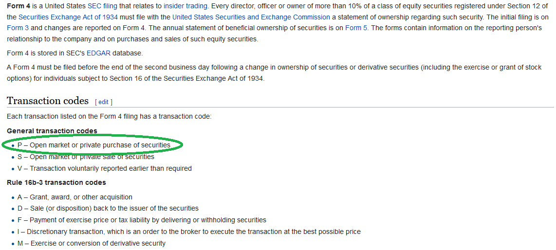Transaction Code Form 4 Ceriunicaasl