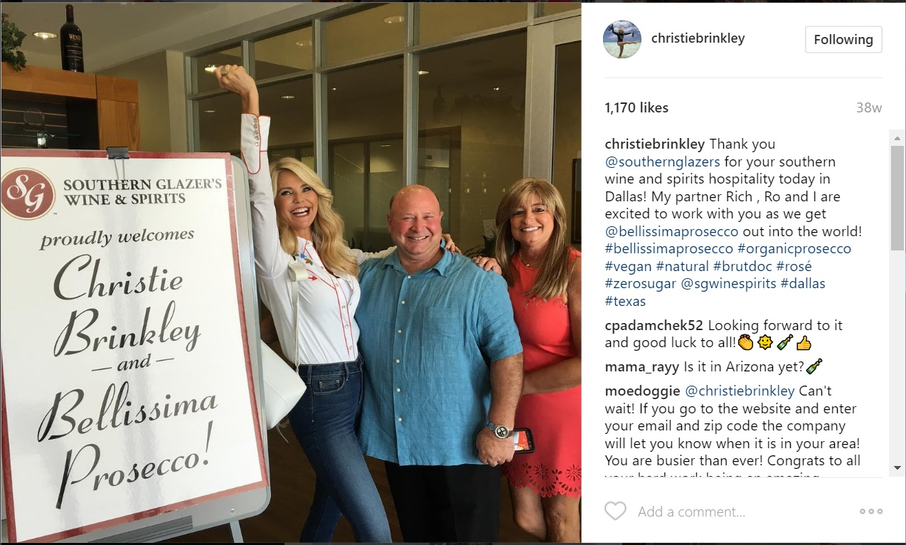 Iconic brands inc icnb christie brinkley and partner rich christie brinkley and partner rich decicco icnb ceo geenschuldenfo Images