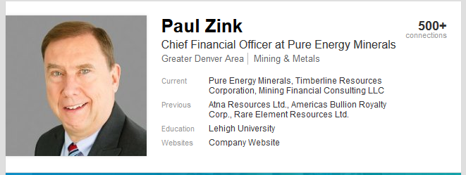 Pure Energy Minerals Forum