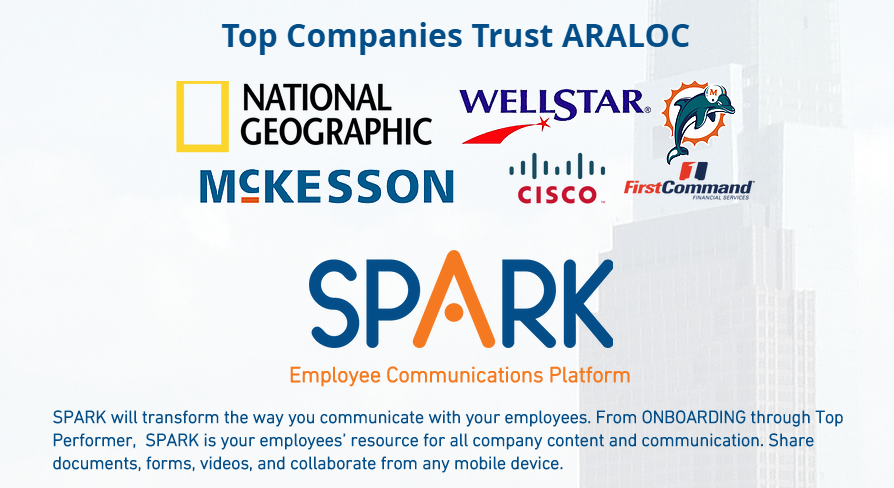 Top Companies that trust ARALOC