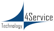 4Service Cloud Computing Logo