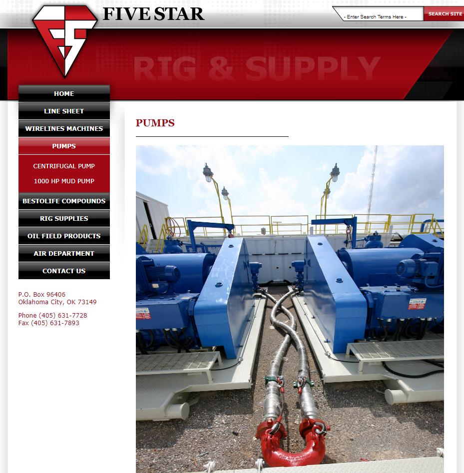 Sixty Six Oilfield Services Inc  (SSOF): SSOF= Oklahoma-Rig