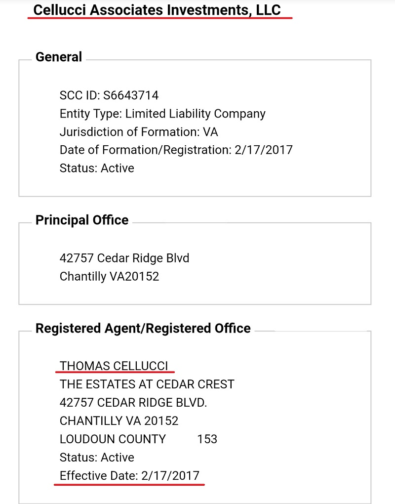 Cellucci Associates Investments Inc.