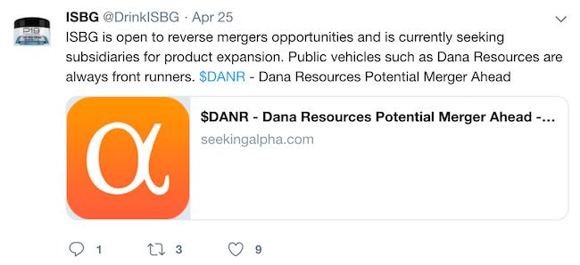 Dana Resources (DANR) Stock Message Board - InvestorsHub